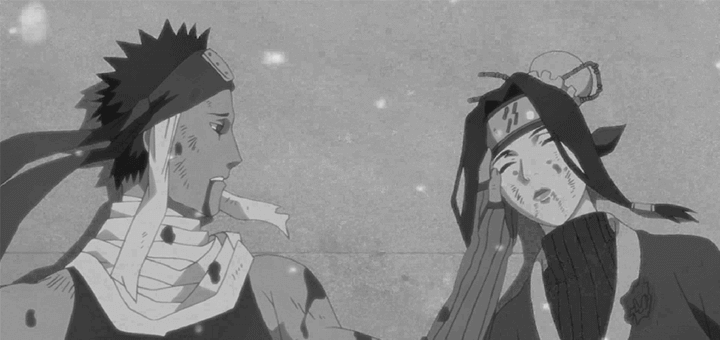 Zabuza e Haku di Naruto