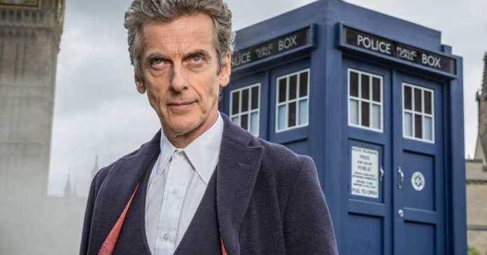 peter capaldi lascia doctor who
