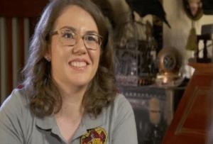 Rebecca Sharrock e harry potter