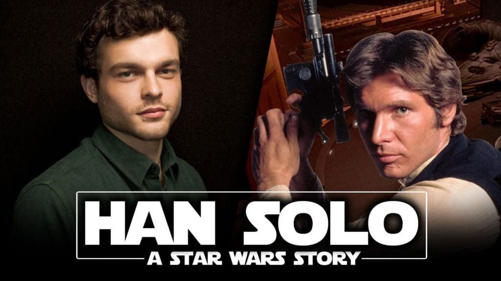 casting di Han Solo A Star Wars Story