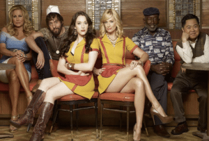 2 broke girls cancellata