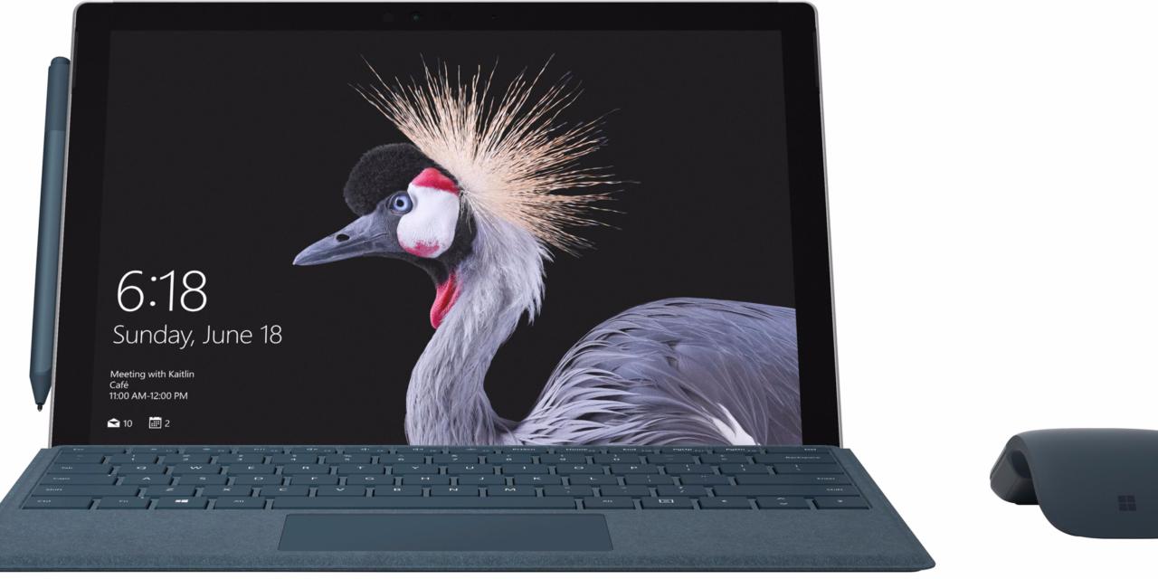 Surface Pro 2017: Microsoft annuncia il nuovo 2 in 1 da 13 ore di autonomia