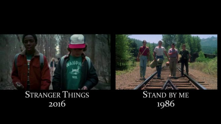 Stranger Things VS Stand By Me