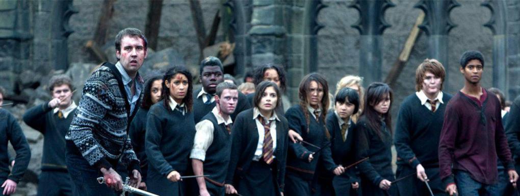 battaglia hogwarts harry potter