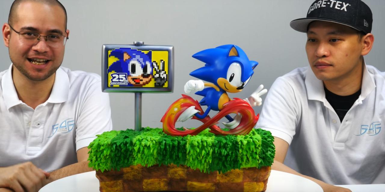 Venticinquesimo anniversario per Sonic: First 4 Figures presenta una nuova statua del riccio blu