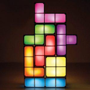 lampada led tetris