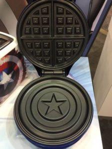 macchina waffle marvel