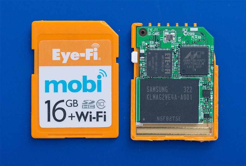 Schede SD Wifi: come funzionano le schede di memoria wireless