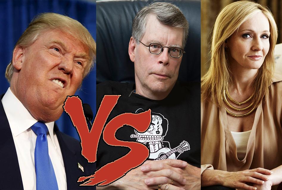 Trump blocca Stephen King su Twitter e interviene J.K.Rowling