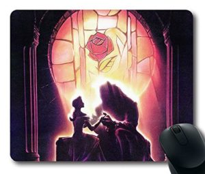 mouse pad bella e la bestia