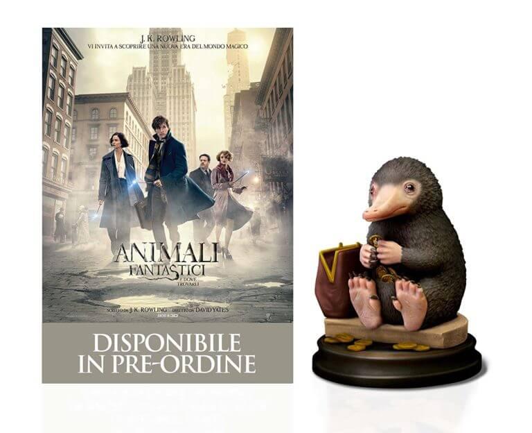 Animali Fantastici e dove trovarli Blu-ray e Snaso