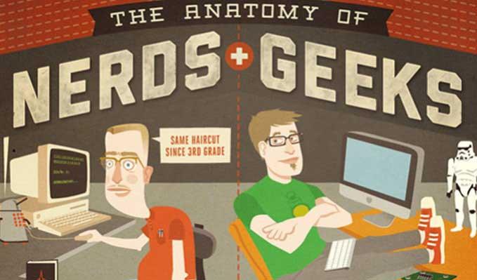 differenza nerd geek
