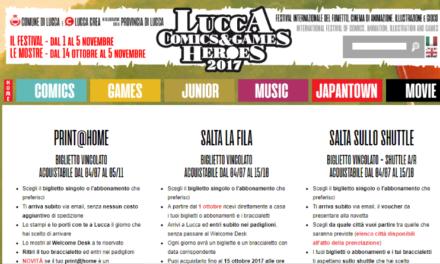 Biglietti Lucca Comics & Games 2017: costi, abbonamenti e consigli