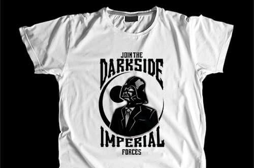 magliette nerd darkside ideatshirt