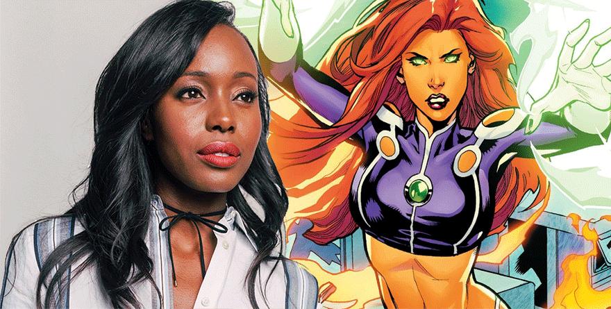 Titans: Anna Diop interpreterà Starfire nella serie live action del DC Digital Service
