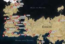 geografia il trono di spade