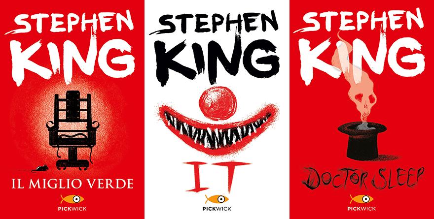 Stephen King: i nuovi volti delle copertine dei suoi libri