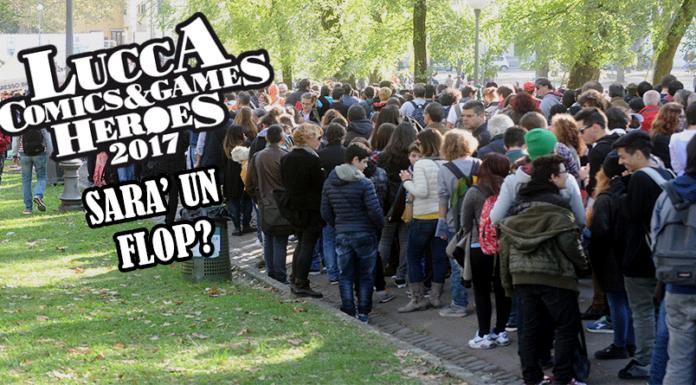 Lucca comics 2017 sarà un flop