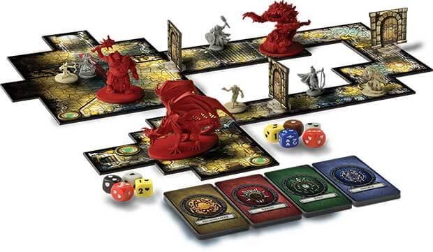 I 15 migliori giochi da tavolo fantasy di tutti i tempi contea geek - Dungeon gioco da tavolo ...