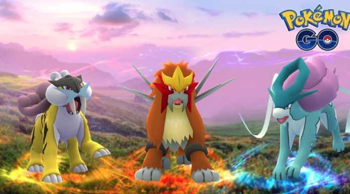 hentei, raikou, suicune Pokemon GO