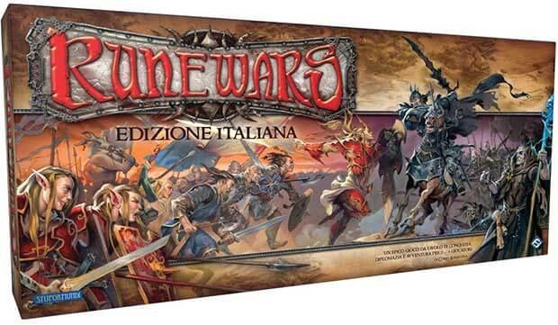 runewars gioco da tavola fantasy