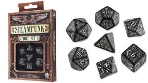 set dadi steampunk