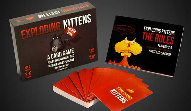 exploding kittens gioco da tavola