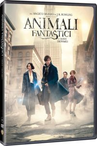 DVD e Blue ray Animali Fantastici