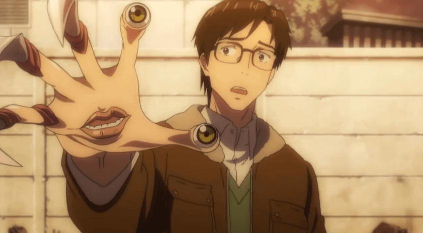 Kiseiju l'ospite indesiderato Anime su Netflix