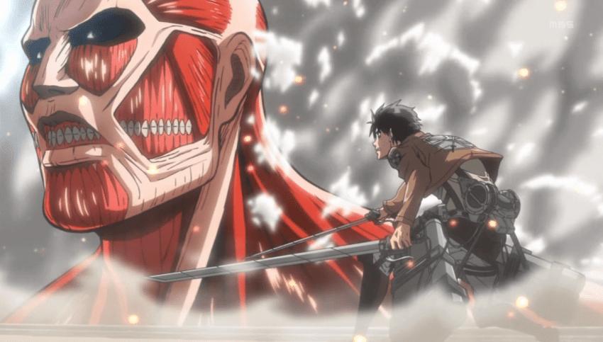 L'Attacco dei Giganti Anime da vedere su Netflix