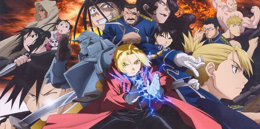 Fullmetal Alchemist Brotherhood anime da vedere su Netflix