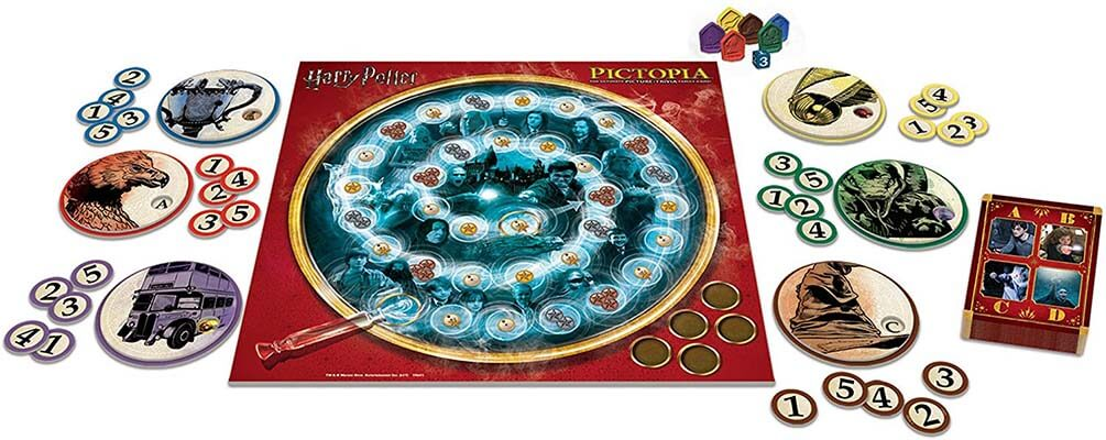 Pictopia Harry Potter The Picture Trivia Game
