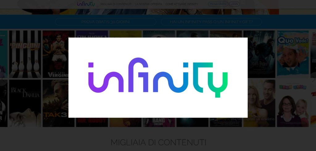 infinity streaming