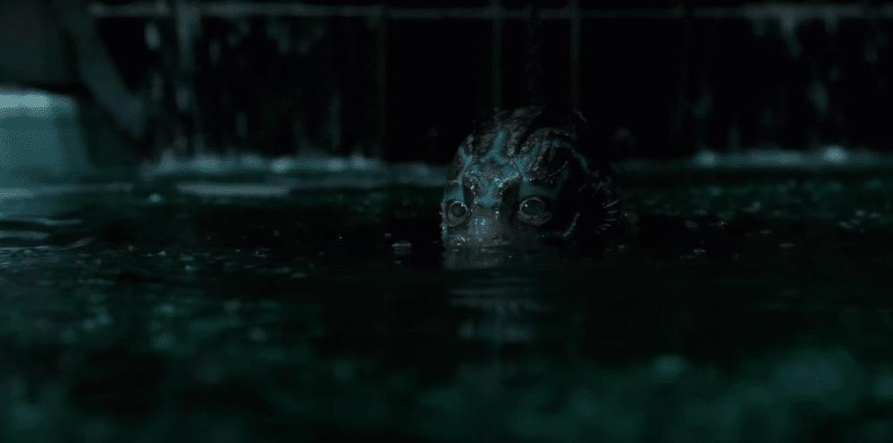 La forma dell'acqua mostro