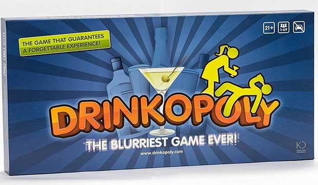 Drinkopoly Gioco alcolico da tavolo