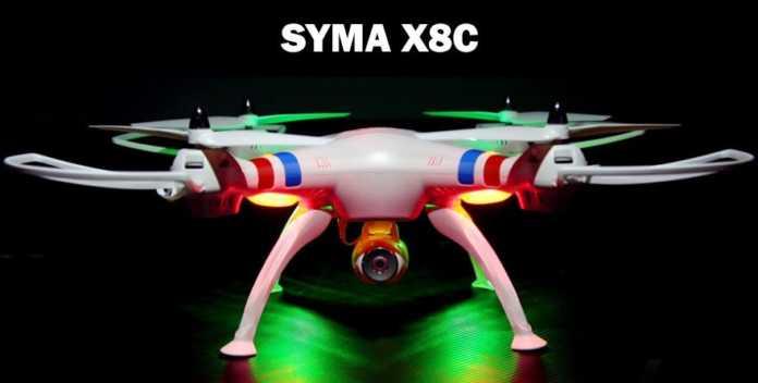 drone syma x8c recensione