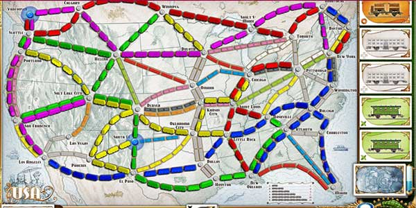 Ticket to Ride Gioco da Tavolo German
