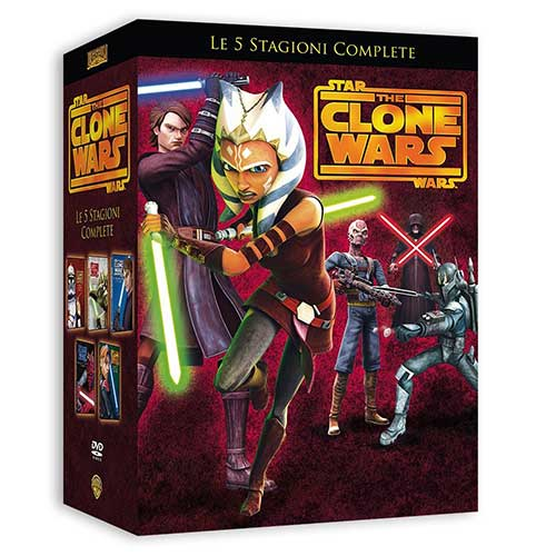Cofanetto Star Wars The Clone Wars