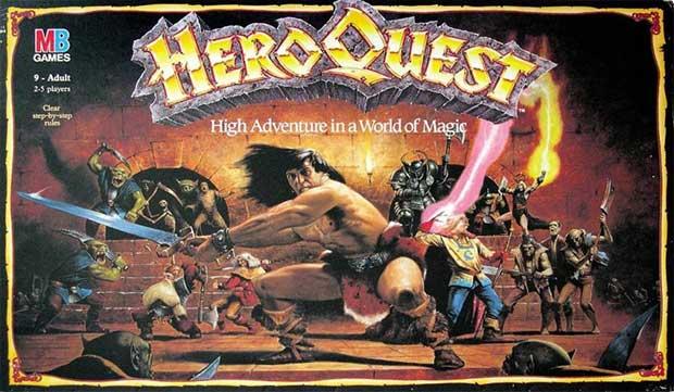 Heroquest gioco fantasy anni 80