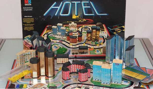 Hotel gioco in scatola anni 80