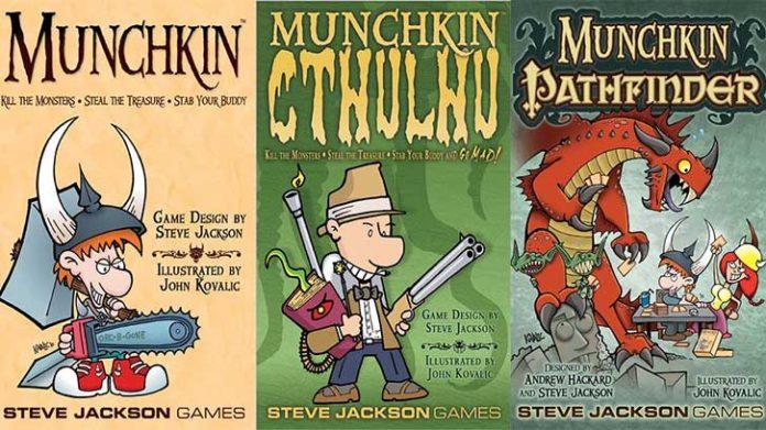 Munchkin gioco di carte da tavolo