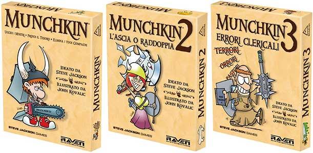 Munchkin gioco e espansioni