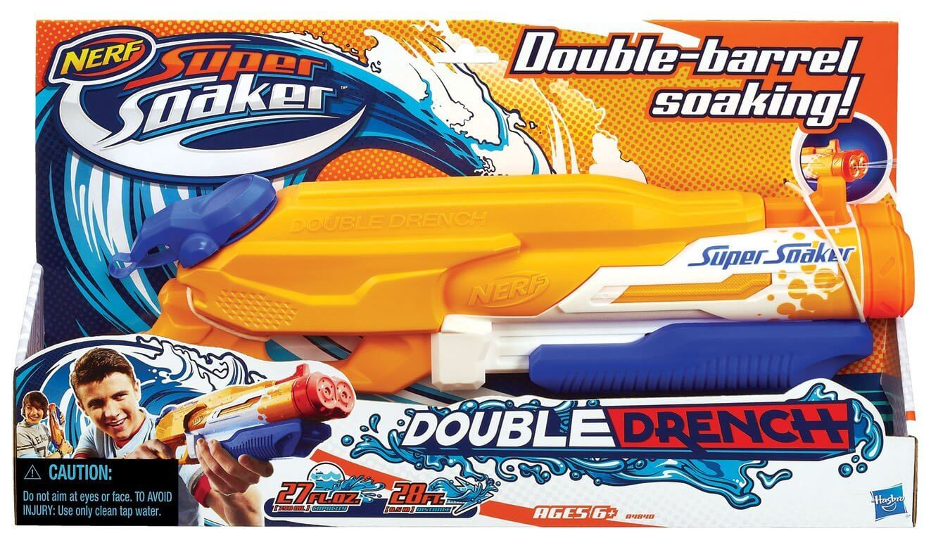 Nerf Supers Soaker Double Drench