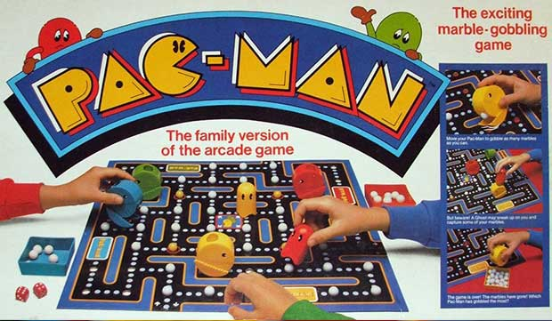 Pac-Man gioco in scatola