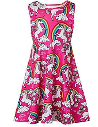Vestito per bambini con unicorni