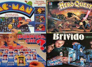 giochi in scatola anni 80 90