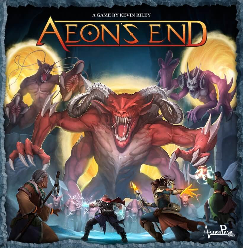 Aeon's End gioco da tavolo di carte