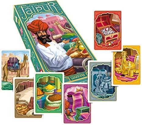 Jaipur gioco di carta e da tavolo
