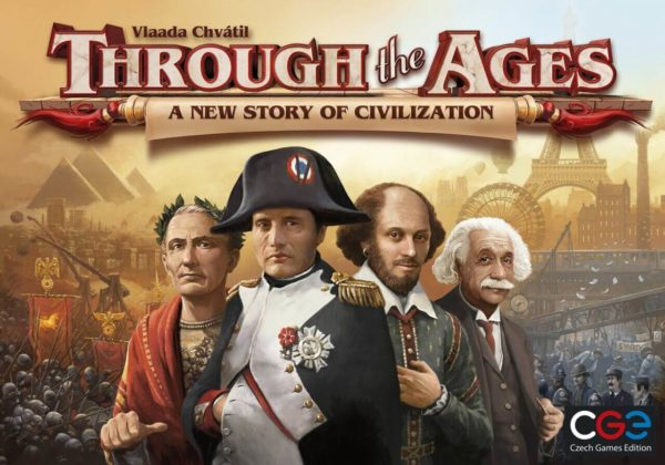 Through the Ages A New Story of Civilization Miglior gioco di carte da tavolo