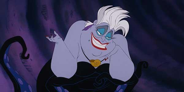 Ursula Cattiva Disney La Sirenetta